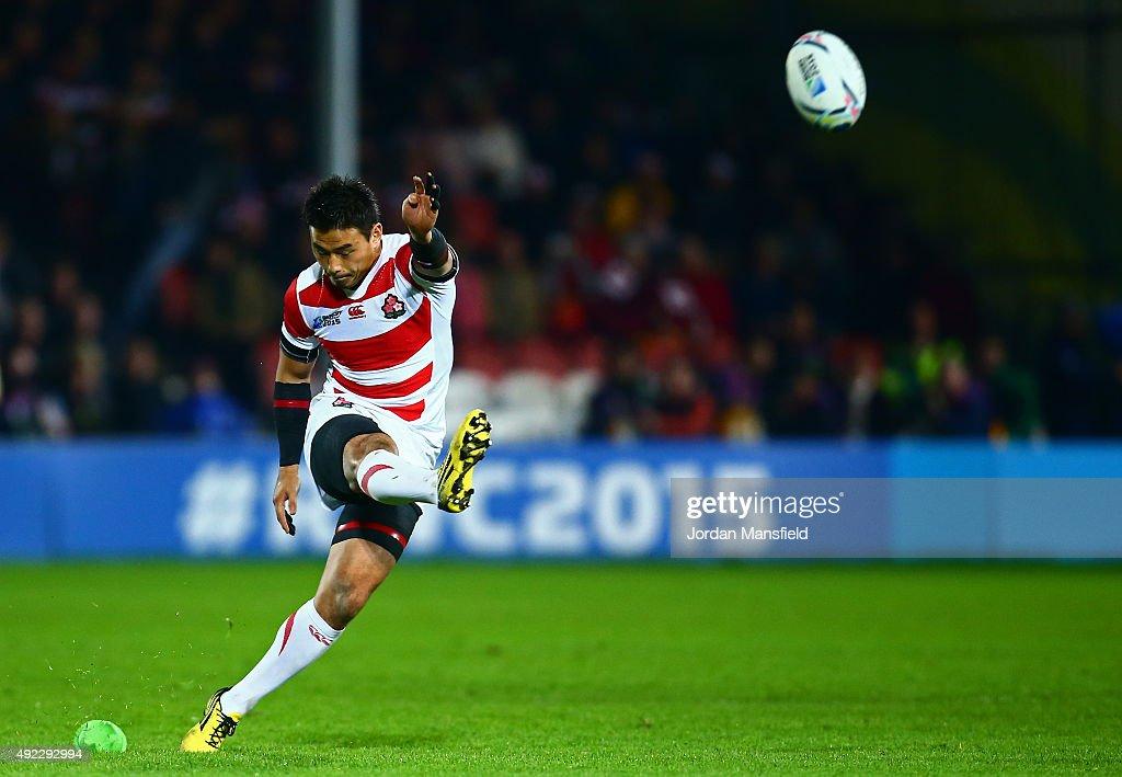 USA v Japan - Group B: Rugby World Cup 2015 : ニュース写真