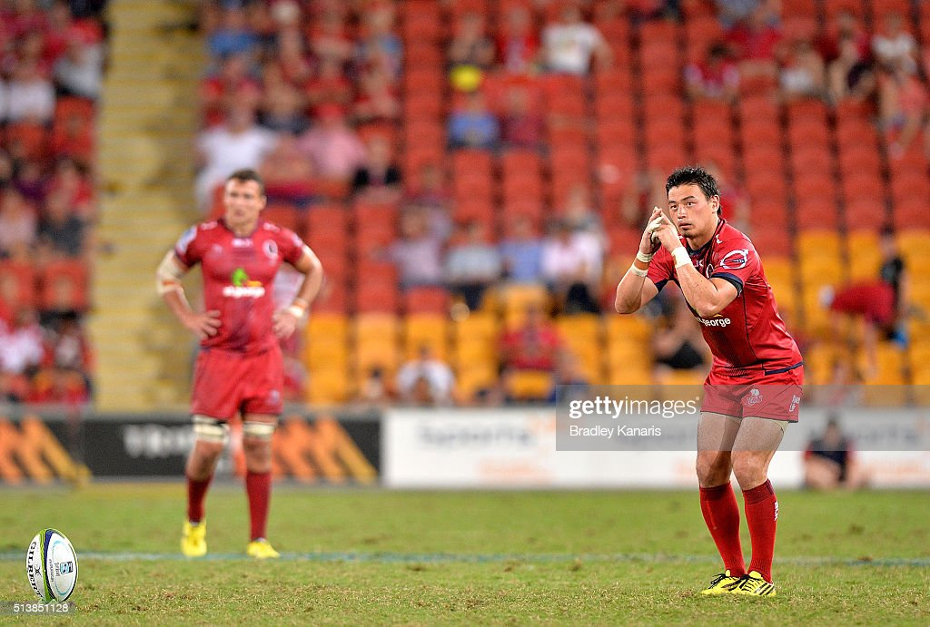 Super Rugby Rd 2 - Reds v Force : News Photo