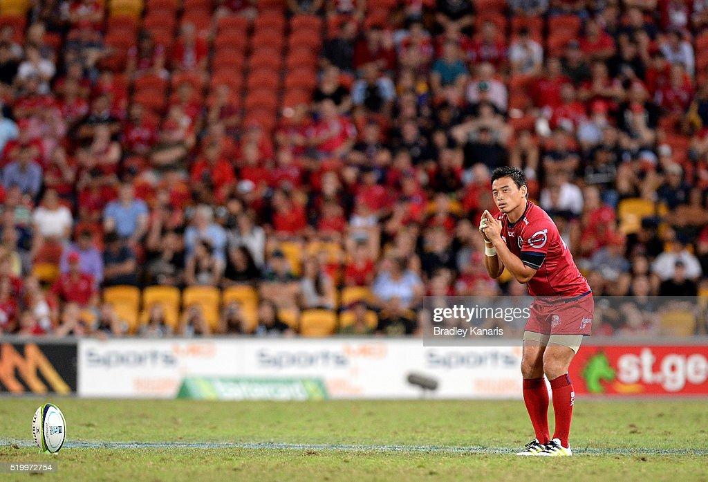 Super Rugby Rd 7 - Reds v Highlanders : ニュース写真