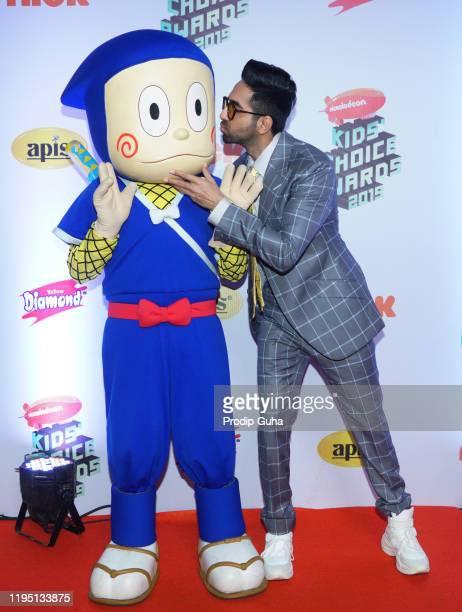Ayushmaan Khurana attends the Nickelodeon The Kids Choice Awards 2019 on December 202019 in Mumbai India