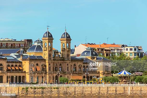 Ayutamiento Or City Hall Of San Sebastian (Donostia) Spain.