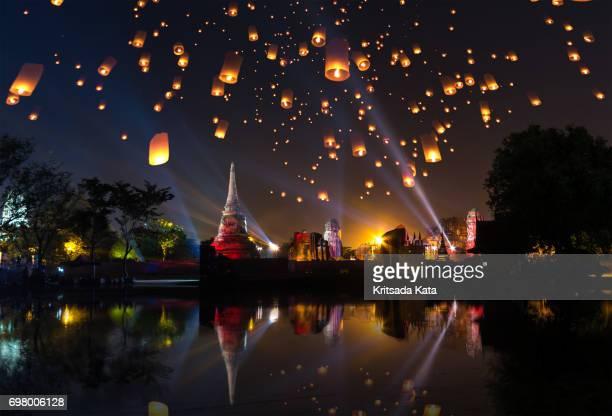 Ayutthaya travel temple festival fair