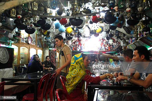 CONTENT] Azadegan Teahouse is the classic oldstyle teahouse with an astonishing collection of teahousejunk hanging from the walls and ceiling and...