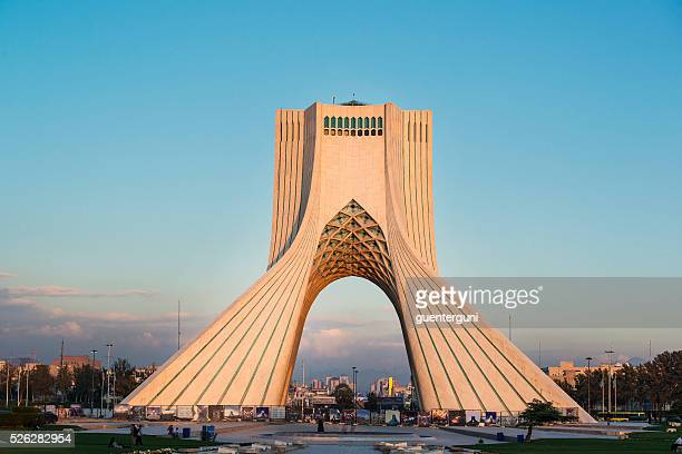 Azadi or Freedom tower in Tehran, capital of Iran