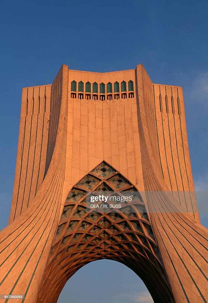 Azadi Tower Or Shahyad Tower, 1971, By Hossein Amanat (1942), Teheran