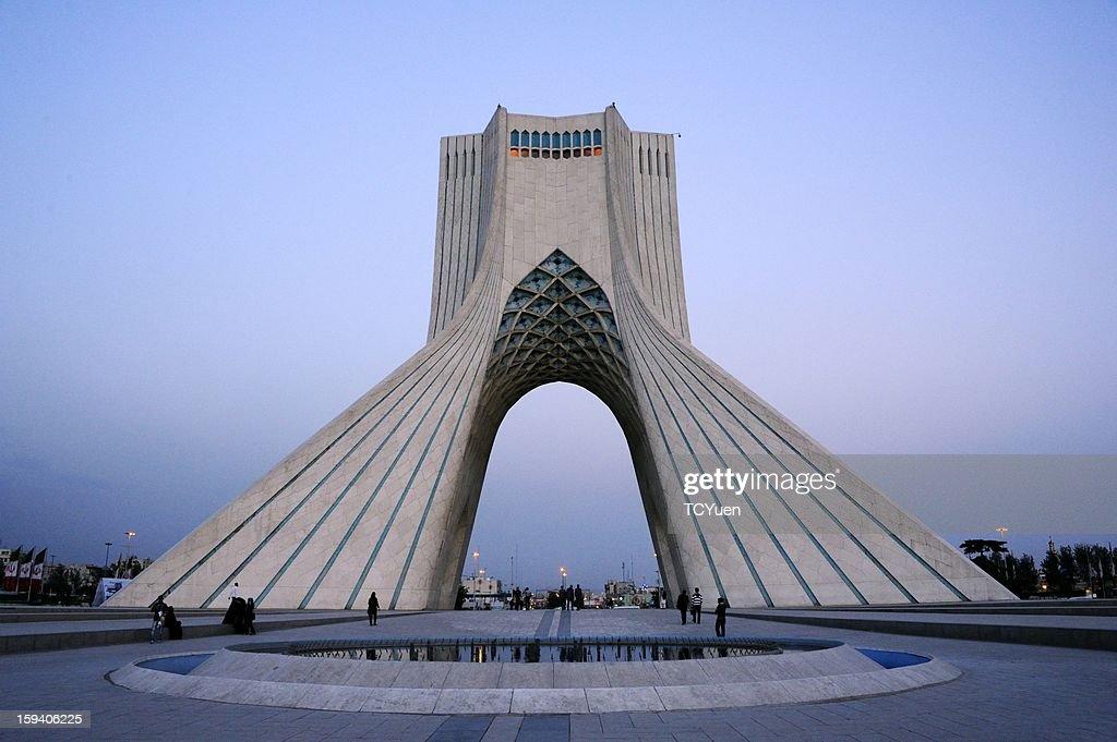 Azadi Tower, Tehran, Iran : Stock Photo