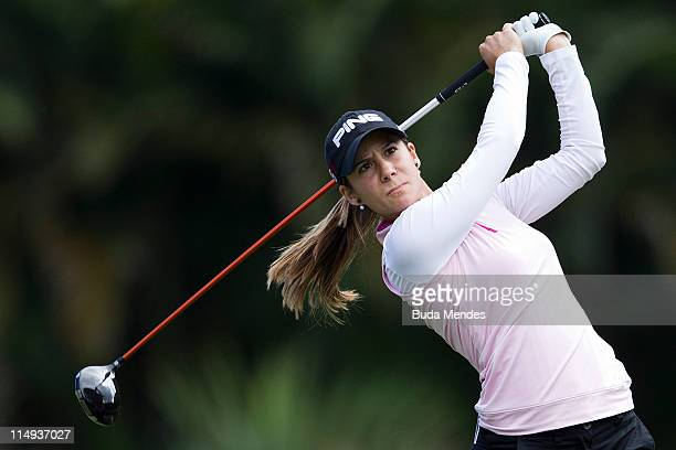 Azahara Munoz of Spain during the second round of the HSBC LPGA Brazil Cup at the Itanhanga Golf Club on May 29, 2011 in Rio de Janeiro, Brazil.
