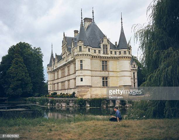 AzayleRideau France In the middle of a beautiful woods is the Chateau d'Azay le Rideau on the bank of the Indre a delightful river tributary of the...