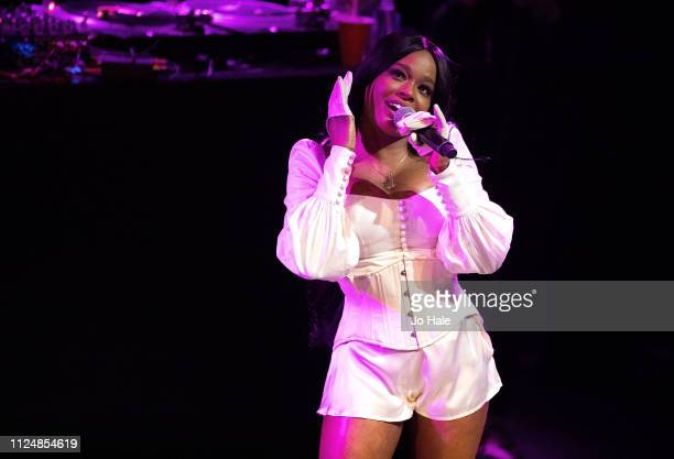 Azealia Banks performs at KOKO on January 25 2019 in London England