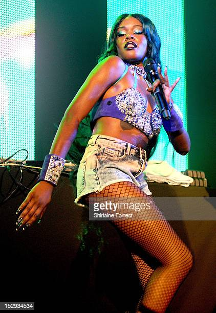 Azealia Banks performs at Manchester Academy 2 on September 28 2012 in Manchester England