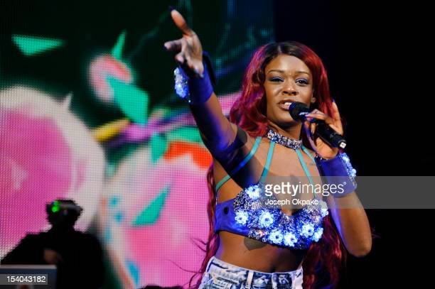Azealia Banks performs her first UK headline show at O2 Shepherd's Bush Empire on October 12, 2012 in London, England.