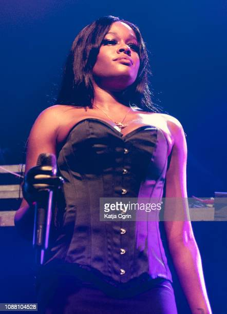 Azealia Banks performs on stage at The O2 Ritz Manchester on January 24 2019 in Manchester England