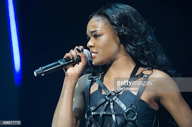 Azealia Banks performs onstage at Brixton Academy on September 22 2014 in London England