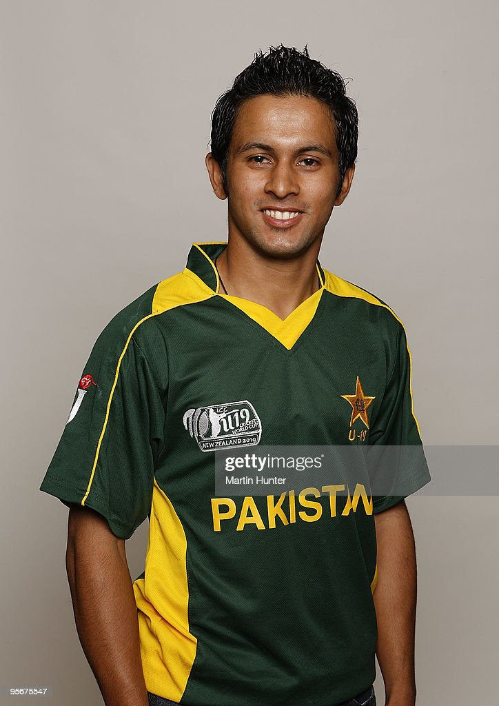 Pakistan Headshots - ICC U19 Cricket World Cup : News Photo