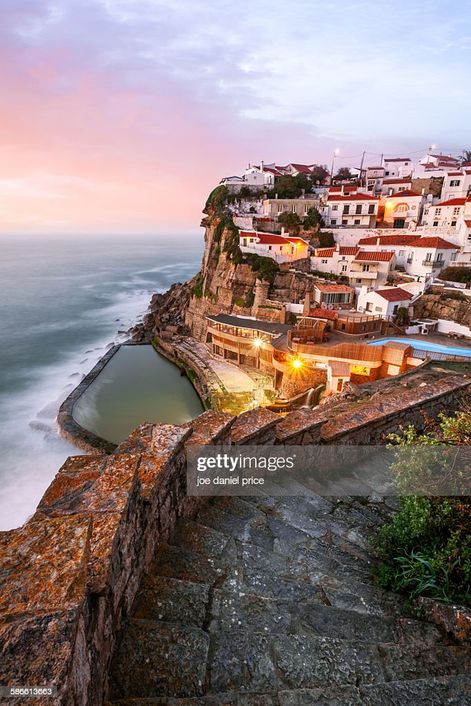 Azenhas do Mar, Sintra, Portugal : Stock Photo
