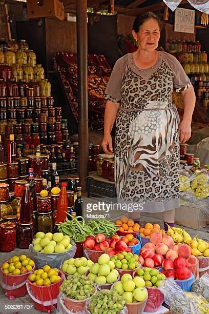 azerbaijan farmer's market - azerbaijan stock pictures, royalty-free photos & images