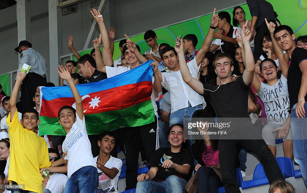Azerbaijan Football Fans During The Fifa U 17 Women S World Cup 2012 News Photo Getty Images