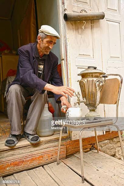 azerbaijani tea - azerbaijan stock pictures, royalty-free photos & images