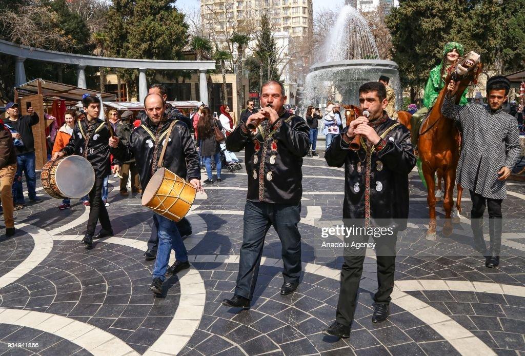 Newroz celebrations in Azerbaijan : News Photo