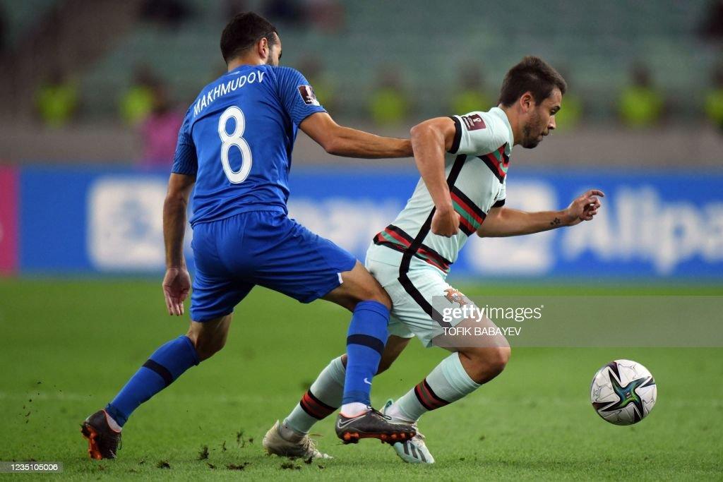 FBL-WC-2022-EUR-QUALIFIER-AZE-POR : News Photo