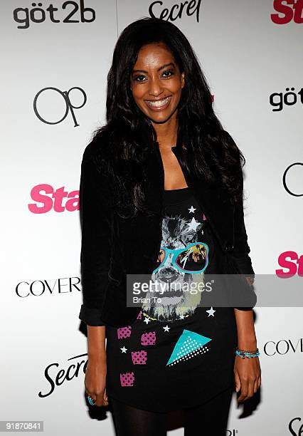 Azie Tesfai attends Star Magazine's 5th Year Anniversary Celebration at Bardot on October 13 2009 in Los Angeles California