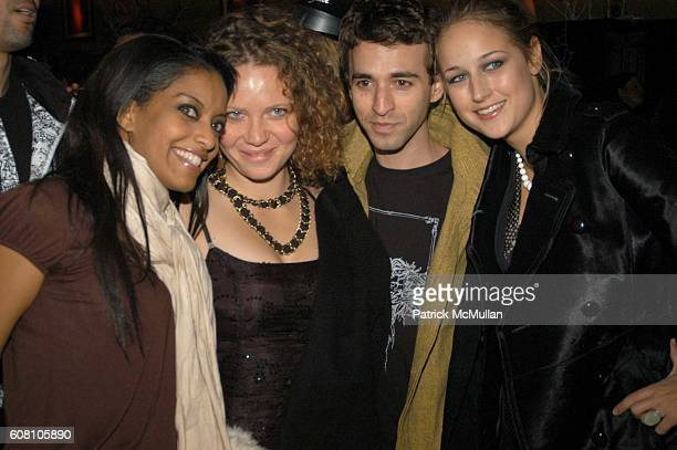 Azie Tesfai Selena McMahan Anthony Roth Costanzo and Leelee Sobieski attend Jesse Bradford Noel Ashman and Fall Out Boy Host New Year's Eve Party at...
