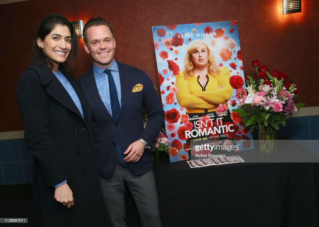 Isn't It Romantic VIP Screening Powered By 1-800-Flowers : News Photo