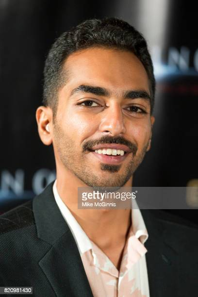 Aziz Aldorani attends the International SciFi Series 'Medinah' premiere and red carpet reception at ComicCon International 2017 at The Manchester...