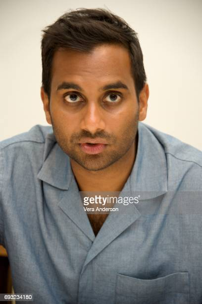 Aziz Ansari at the 'Master of None' Press Conference at the Four Seasons Hotel on June 5 2017 in Beverly Hills California