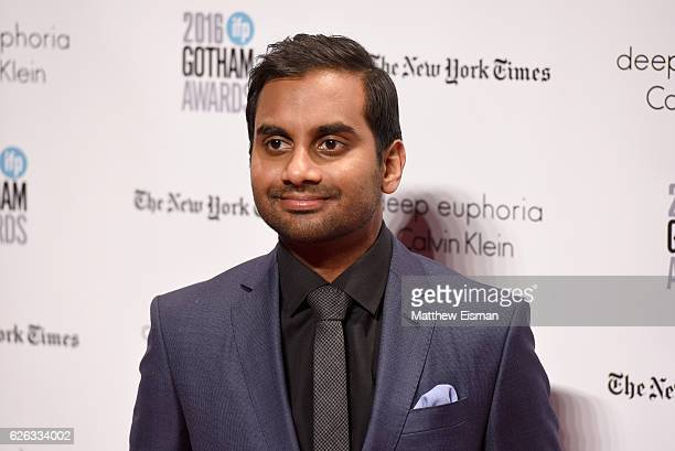 Aziz Ansari attends IFP's 26th Annual Gotham Independent Film Awards at Cipriani Wall Street on November 28 2016 in New York City