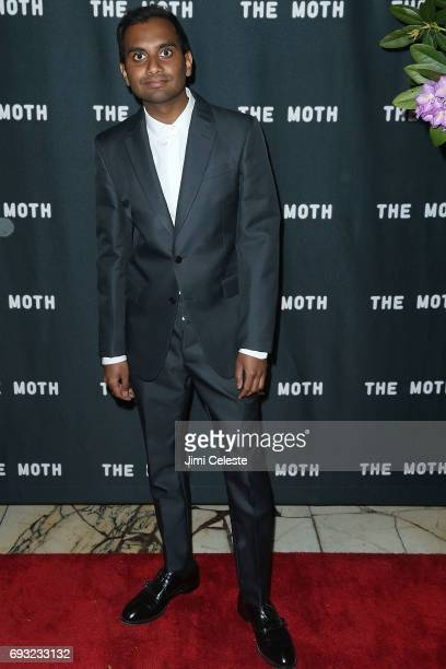 Aziz Ansari attends the 2017 Moth Ball A Moth Summer Night's Dream at Capitale on June 6 2017 in New York City