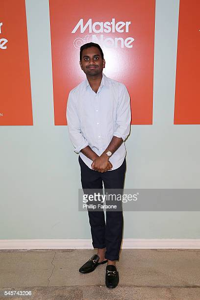 "Aziz Ansari attends the FYC @ UCB for ""Master of None"" at UCB Sunset Theater on July 9, 2016 in Los Angeles, California."