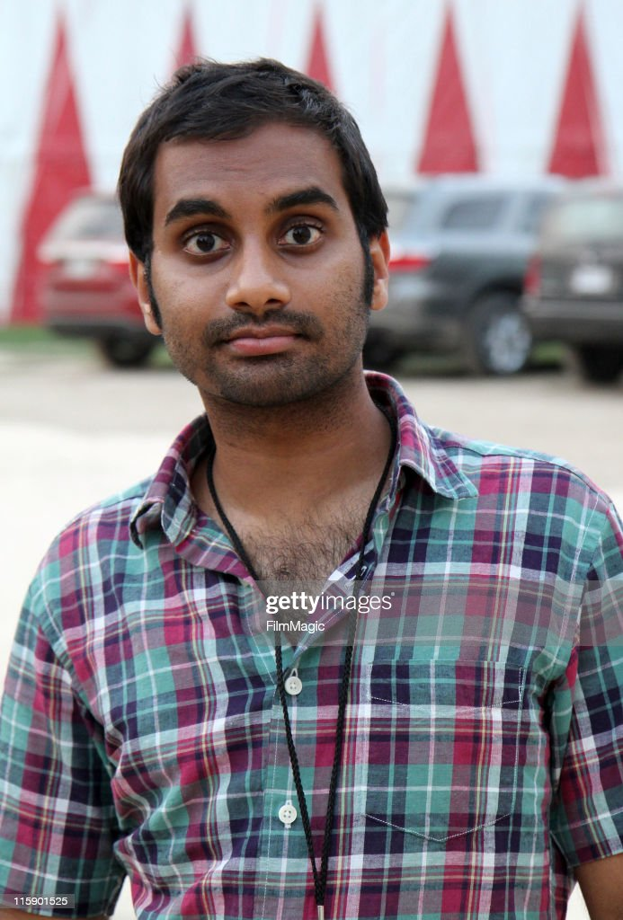 Aziz Ansari during Bonnaroo 2011 on June 11, 2011 in Manchester, Tennessee.