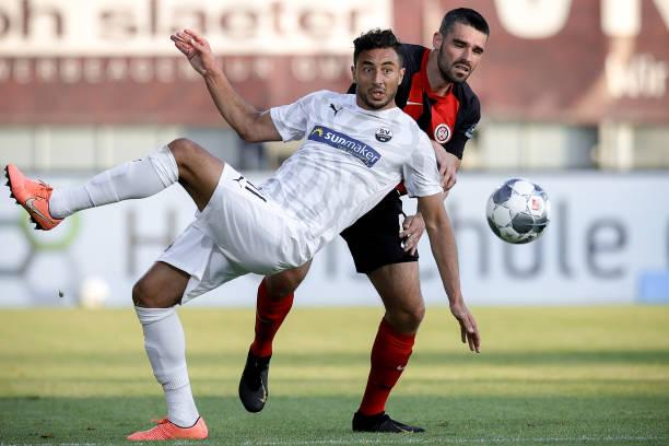 DEU: SV Wehen Wiesbaden v SV Sandhausen - Second Bundesliga