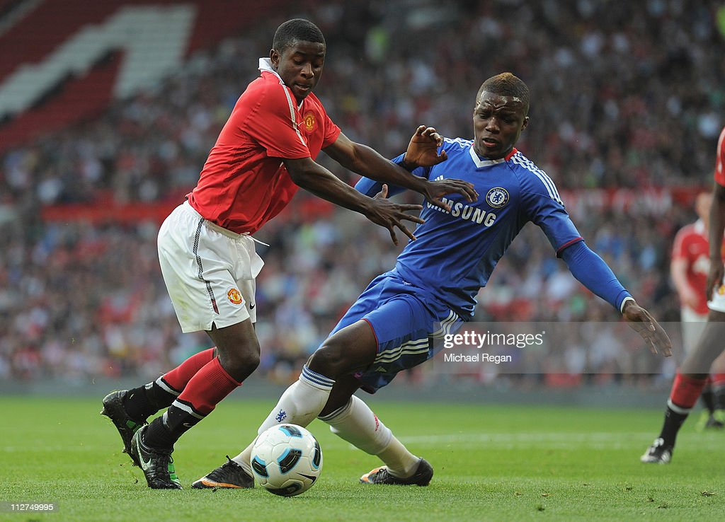 Manchester United v Chelsea - FA Youth Cup Semi Final 2nd Leg : News Photo