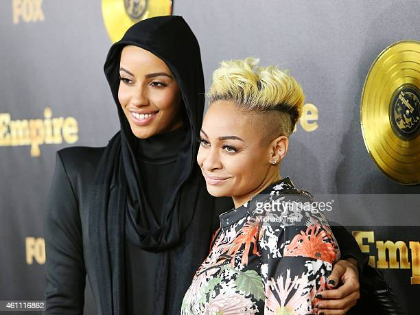 AzMarie Livingston and Raven Symone arrive at the Los Angeles premiere of Empire held at ArcLight Cinemas Cinerama Dome on January 6 2015 in...