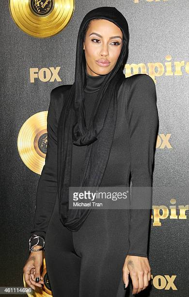 AzMarie Livingston arrives at the Los Angeles premiere of Empire held at ArcLight Cinemas Cinerama Dome on January 6 2015 in Hollywood California