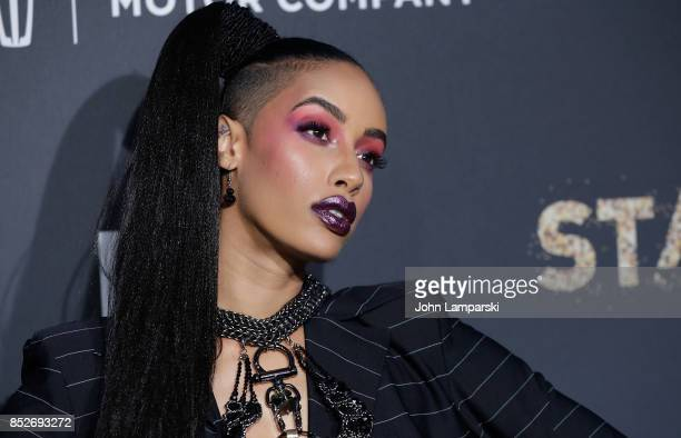 AzMarie Livingston attends 'Empire' 'Star' celebrate FOX's New Wednesday Night at One World Observatory on September 23 2017 in New York City