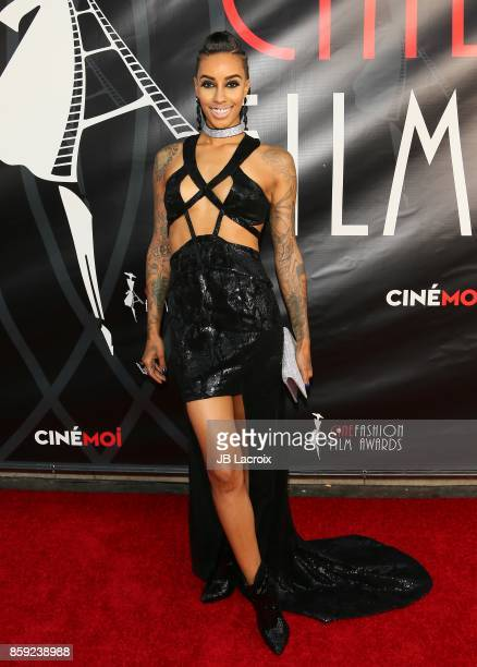 AzMarie Livingston attends the 4th Annual CineFashion Film Awards on October 08 2017 in Los Angeles California