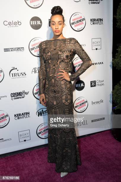 Azmarie Livingston attends the American Influencer Award at The Novo by Microsoft on November 18 2017 in Los Angeles California