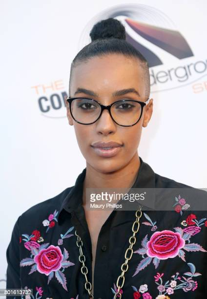 AzMarie Livingston attends The Comedy Underground Series at The Alex Theatre on June 26 2017 in Glendale California