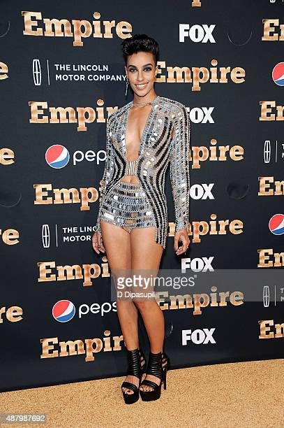 AzMarie Livingston attends the Empire Series Season 2 New York Premiere at Carnegie Hall on September 12 2015 in New York City