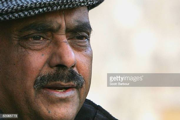 Azmat Begg the father of Moazzam Begg awaits news outside Paddington Green police station January 26 in London England Begg's son Moazzam along with...