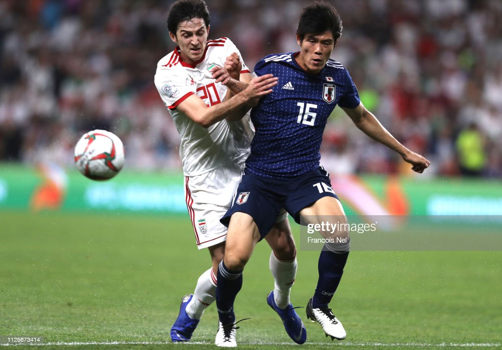 Iran v Japan - AFC Asian Cup Semi Final : Foto jornalística