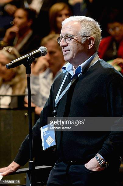 Azoff MSG Entertainment LLC Chairman and CEO Irving Azoff speaks during 'CyberSecurity/CyberInsecurity' at the Vanity Fair New Establishment Summit...