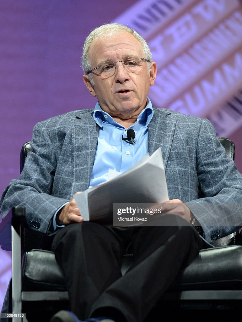 """Azoff MSG Entertainment LLC Chairman and CEO Irving Azoff speaks onstage during """"You Want Another Revolution?"""" at the Vanity Fair New Establishment Summit at Yerba Buena Center for the Arts on October 8, 2014 in San Francisco, California."""