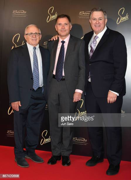 Azoff MSG Entertainment President/CEO Irving Azof President International and Emerging Markets at Live Nation Entertainment Alan Ridgeway and Oak...