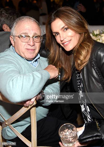 Azoff/MSG Chairman and CEO Irving Azoff and Model Cindy Crawford attend The Heart Foundation 20th Anniversary Event honoring Discovery Land Company's...