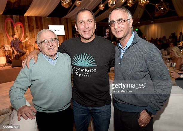 Azoff/MSG Chairman and CEO Irving Azoff Discovery Land Company Founder and CEO Mike Meldman and Cardiologist PK Shah attend The Heart Foundation 20th...