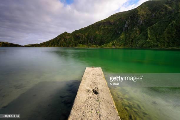 azores landscape is an amazing easter holiday destination. - osterfeuer stock-fotos und bilder